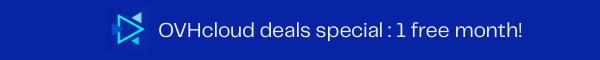 OVHcloud deals EN